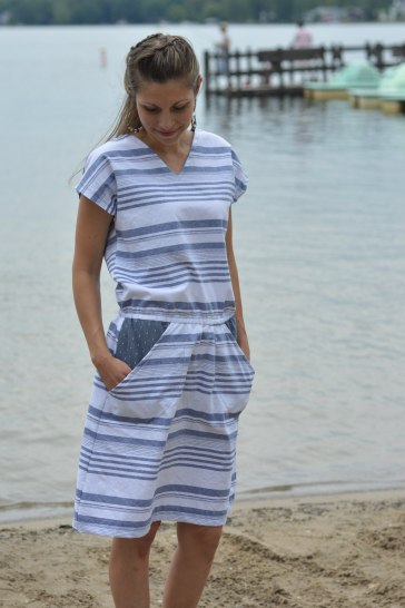 Seamingly Smitten Seaside Dress 3