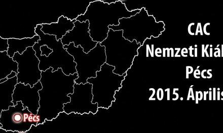 CAC Nemzeti Kiállítás – Pécs – 2015. Április 12.