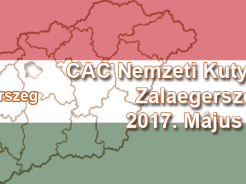 CAC Nemzeti Kutyakiállítás – Zalaegerszeg – 2017. Május 07.