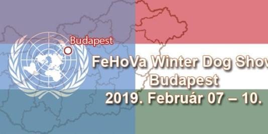 FeHoVa Winter Dog Show – Budapest – 2019. Február 07 – 10.