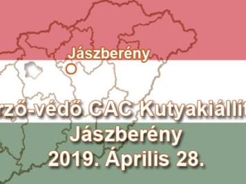 Őrző-védő CAC Kutyakiállítás – Jászberény – 2019. Április 28.