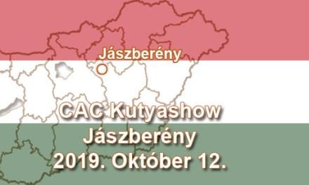 CAC Kutyashow – Jászberény – 2019. Október 12.