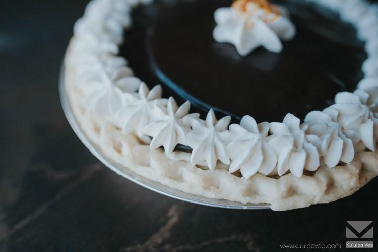 White Chocolate Macadamia Pie
