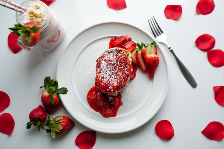Strawberries and Cream French Toast