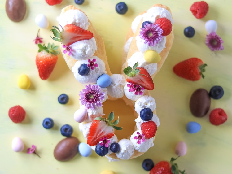 Easter Bunny Cream Tart