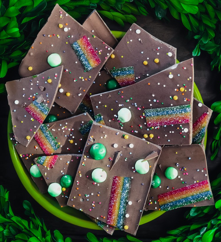 St. Patrick's Day Chocolate Bark