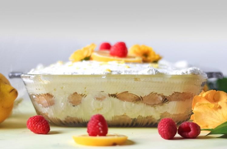 No-Bake Lemon Shortcake