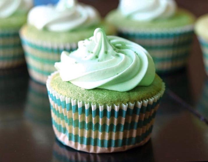 Pistachio Pudding Cupcakes