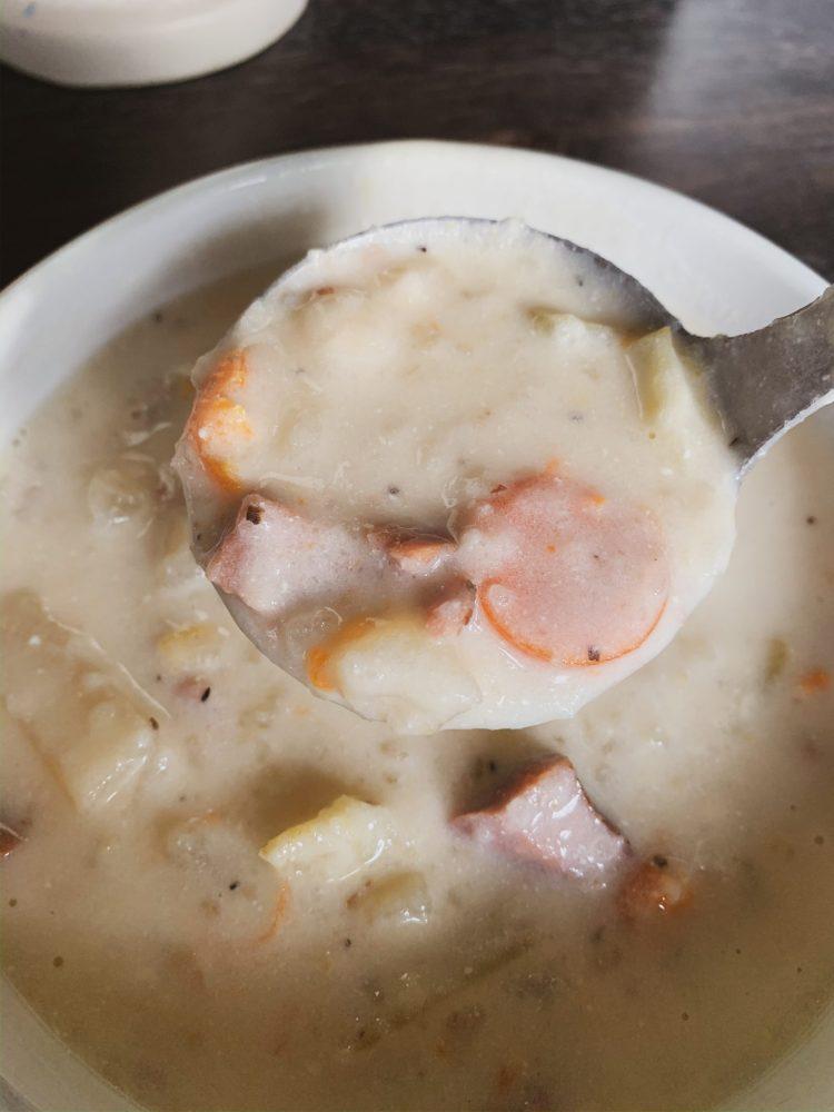Crockpot Ham and Potato Soup