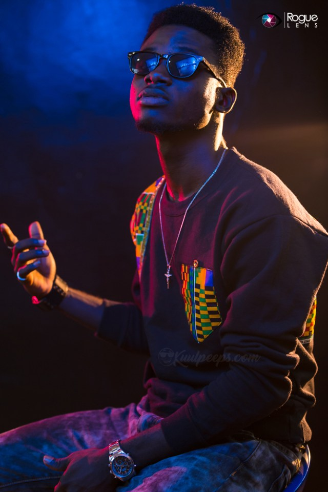 Kuami Eugene's Mom Surprises Him On His Birthday