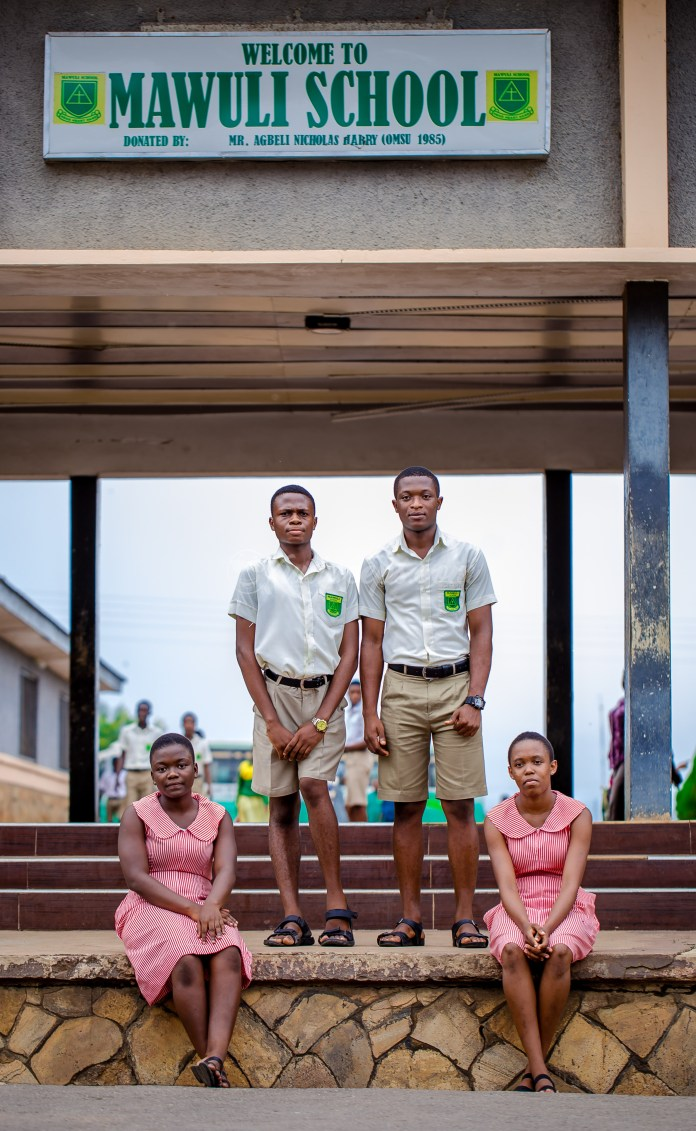 Mawuli School prefects