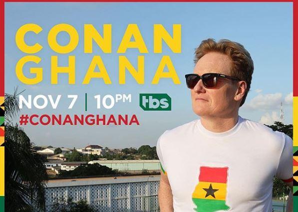 CONAN O'brien With borders: Ghana
