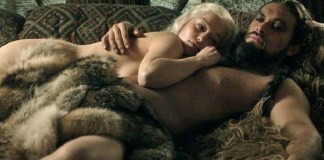 daenerys and drogo in bed. Maxim