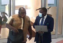 Eric Akwasi Adjei (Left) and Ebenezer Solomon (Right)