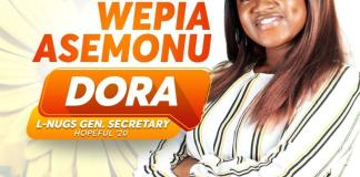 Dora Asemonu Local NUGS General Secretary Aspirant