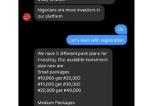 technique of nigerian scammers