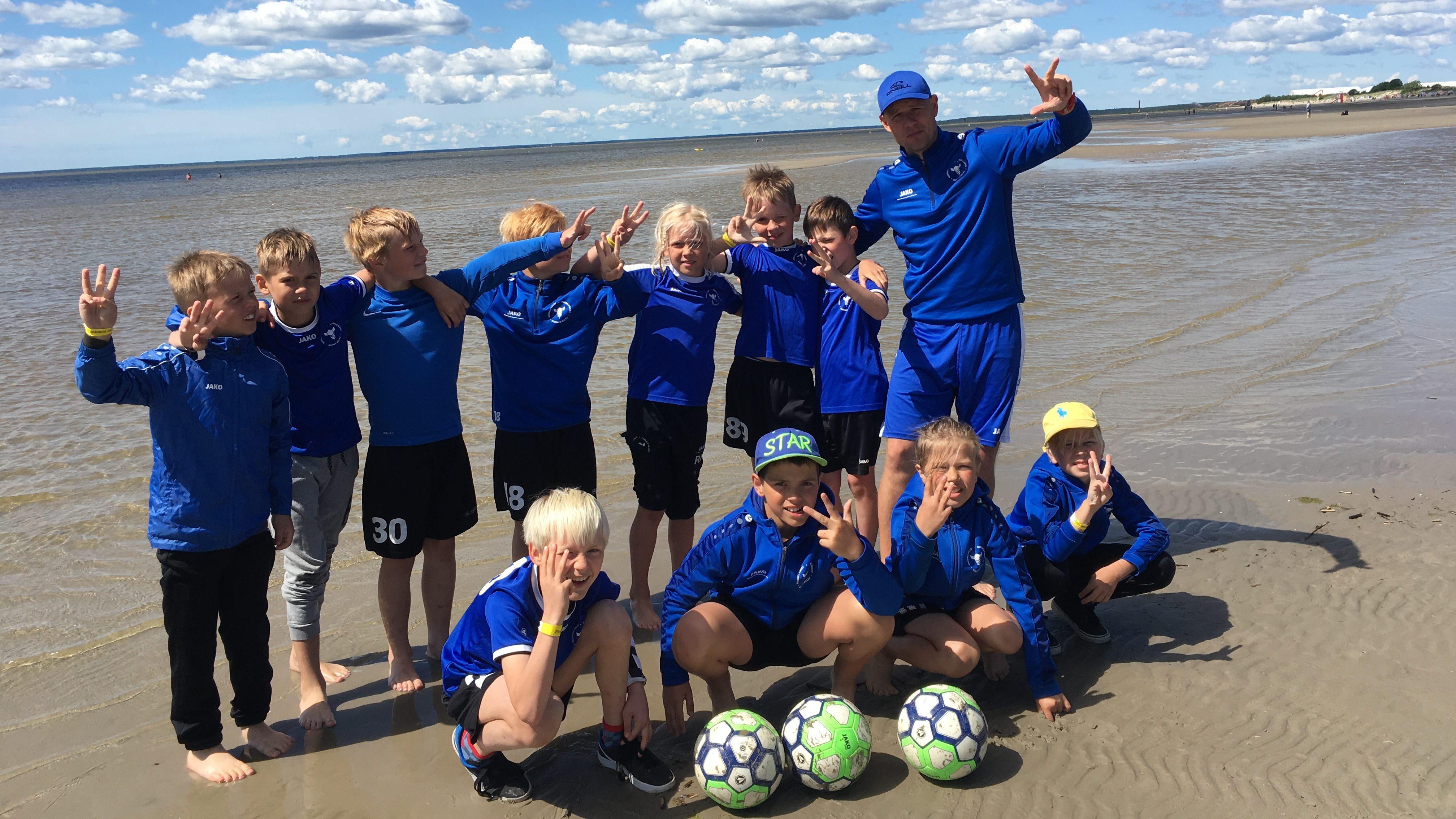 U11 saavutas Pärnu Summer Cupi B turniiril 3.koha
