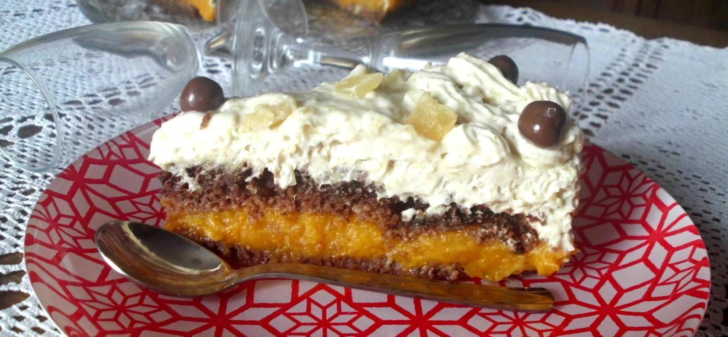 Torta sa bundevom i ananasom