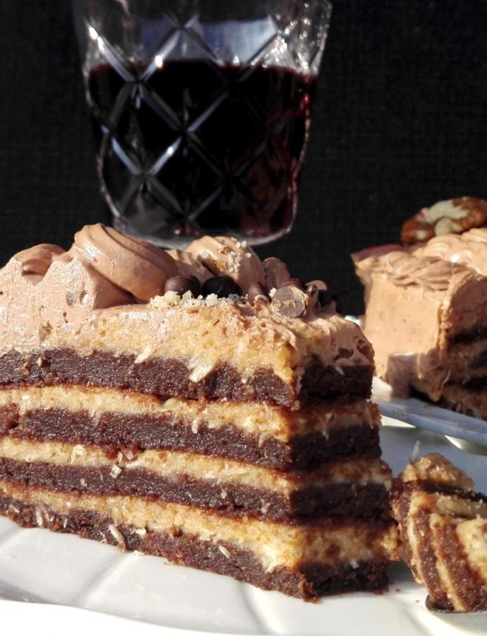 Nemački čokoladni kolač