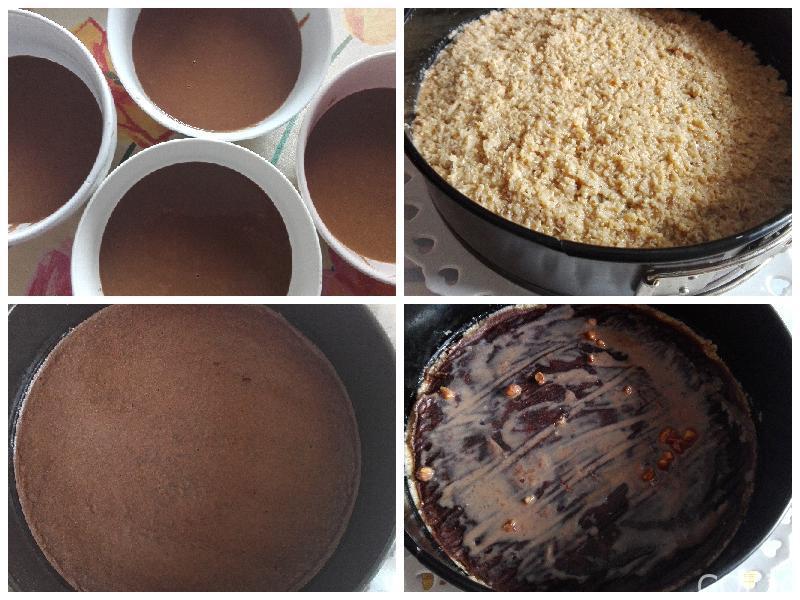 kolaž german chocolate cake