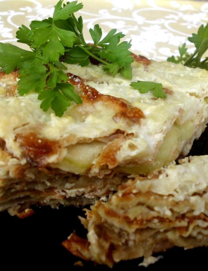 Musaka od povrća, mesa i sira