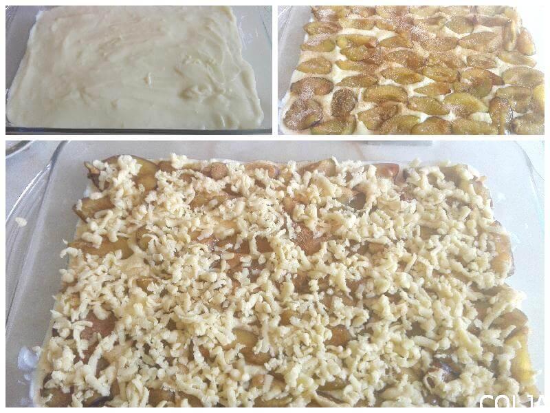 Kolaž kolač za pečenje