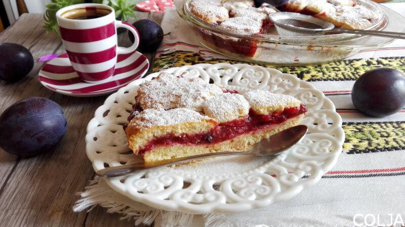 Prhki kolač šljive1