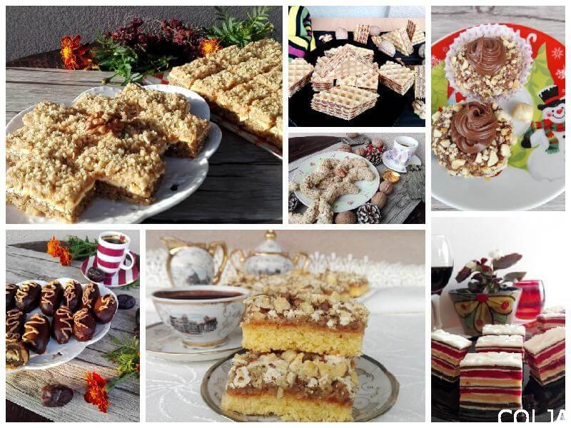 Kolaž praznični i slavski kolači