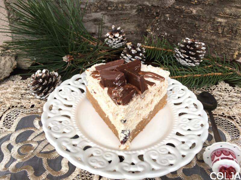 Parče kesten torte