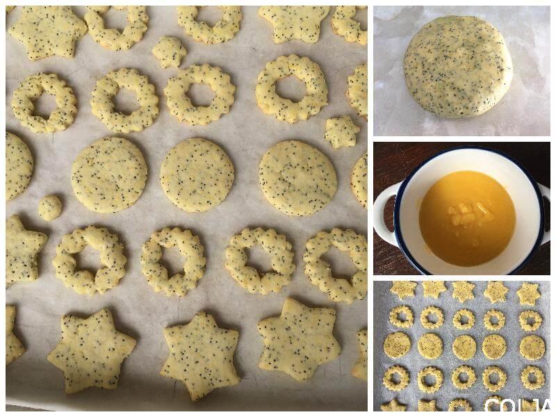 Kolaž kolačići sa makom i limun kremom