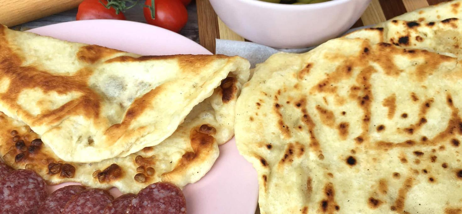 Indijski naan hleb