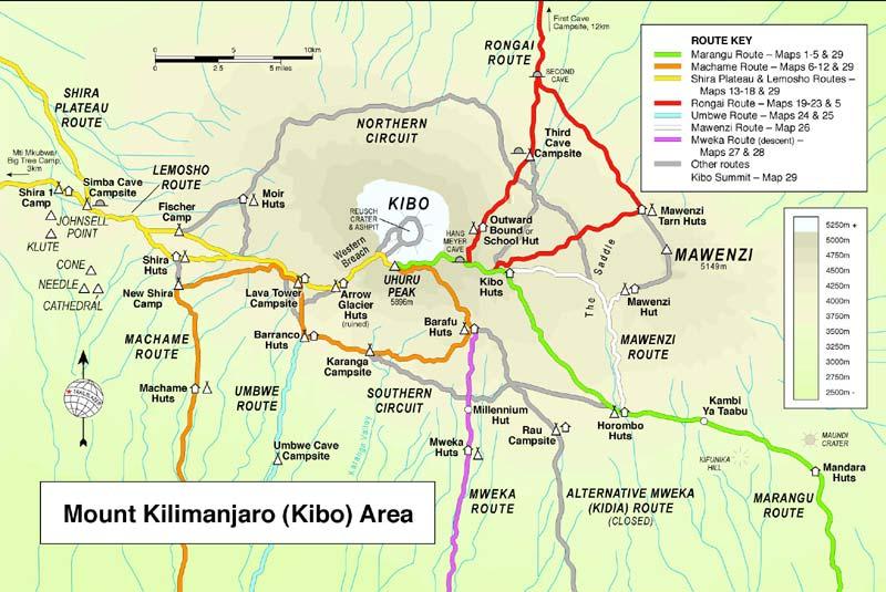 Kilimanjaro Best Route