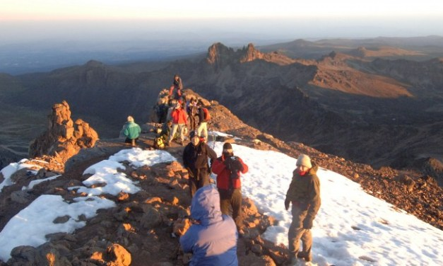 4 Days Mount Kenya Climbing NaroMoru Route