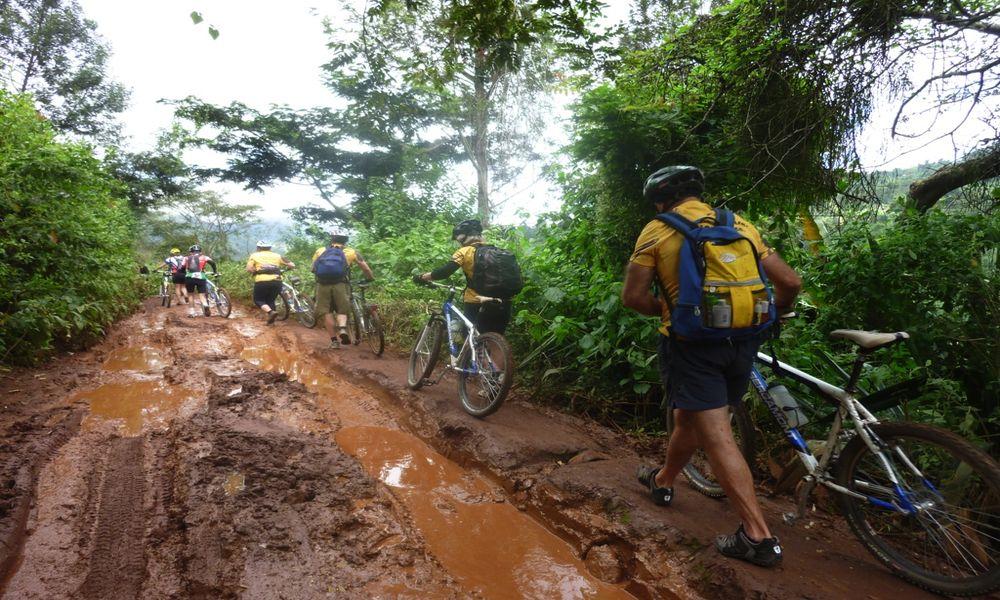 Kilimanjaro cycling tour