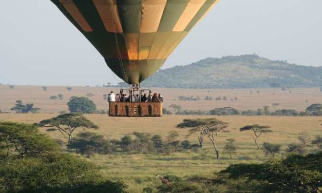 7 Day Serengeti Balloon Safari