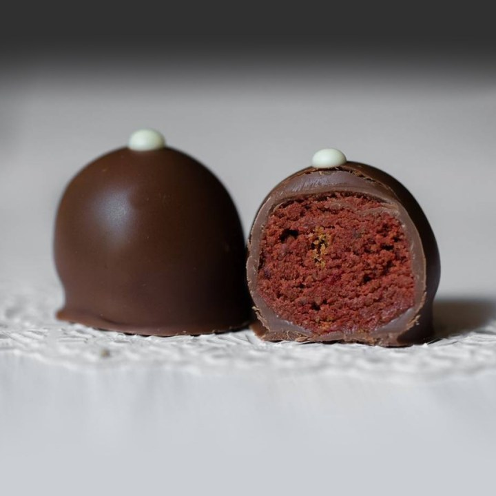 Lotus truffle, simply melts in your mouth