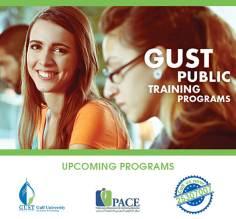Upcoming Programs @ GUST
