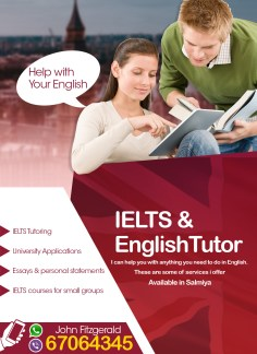 IELTS & English Tutor