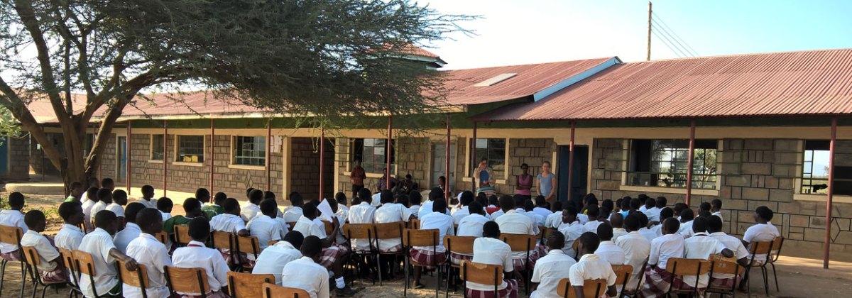 Mentorship Nginyang Girls' High School 2016