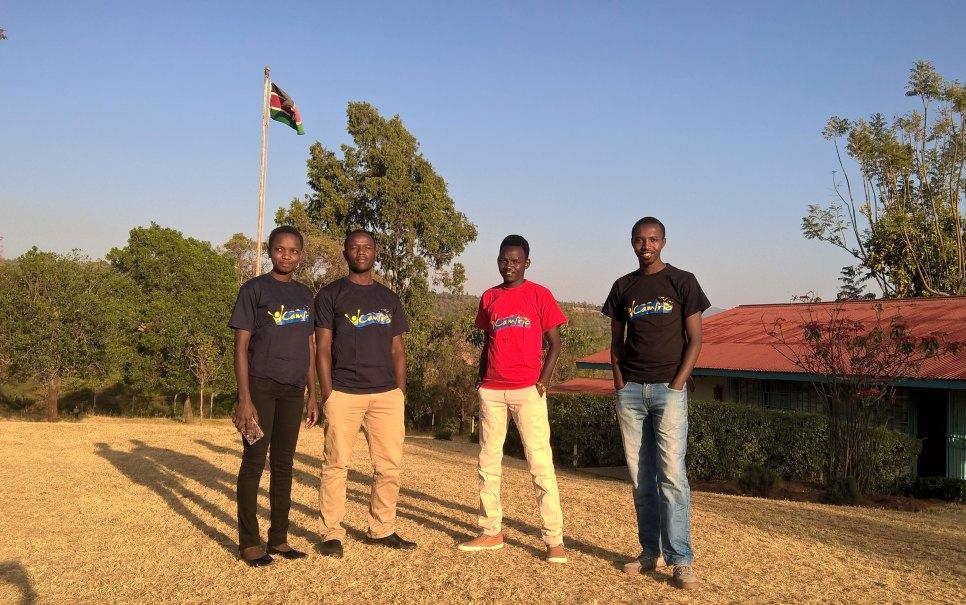 Aden with fellow Kamrio Mentors