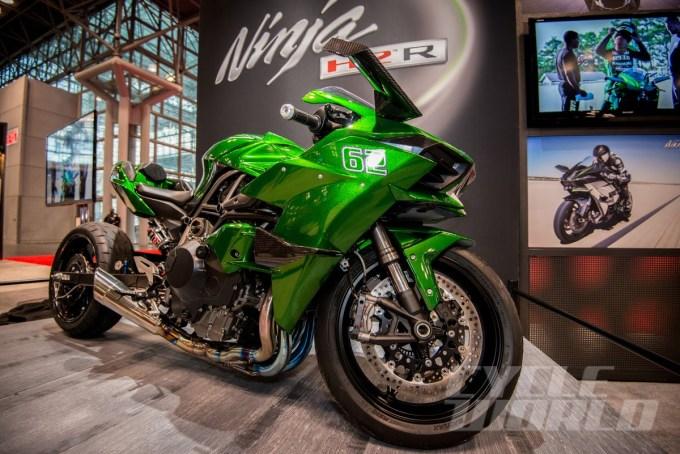 Modifikasi Motor Sport Kawasaki H2R Drag