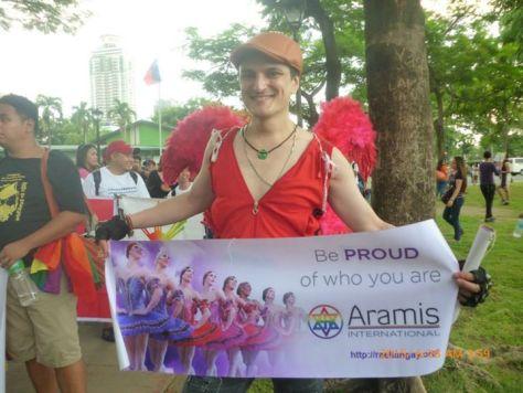 Aramis International at Manila Gay Pride 2015