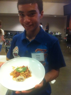 June: Took a culinary arts class at DECATS and found an interest in food and cooking.