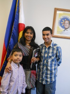 July: Became a dual citizen of the Philippines in Los Angeles.