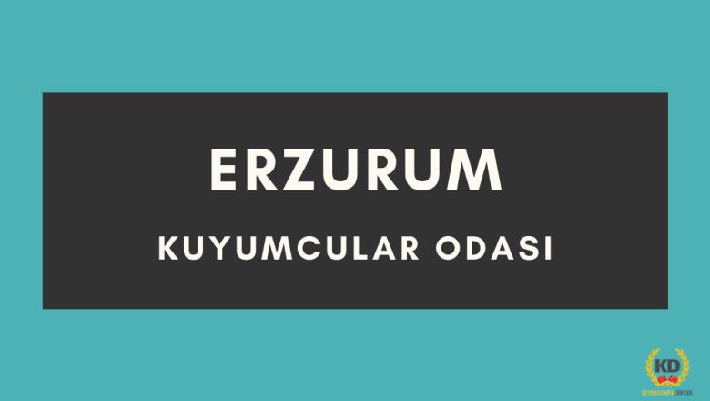 Erzurum Kuyumcular Odası iletişim bilgileri