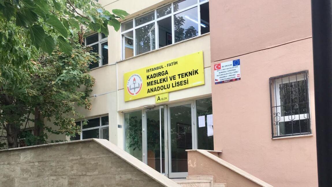 İstanbul Fatih - Kadırga Mesleki ve Teknik Anadolu Lisesi