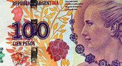 100 Pesos Argentinos - Kuzamba