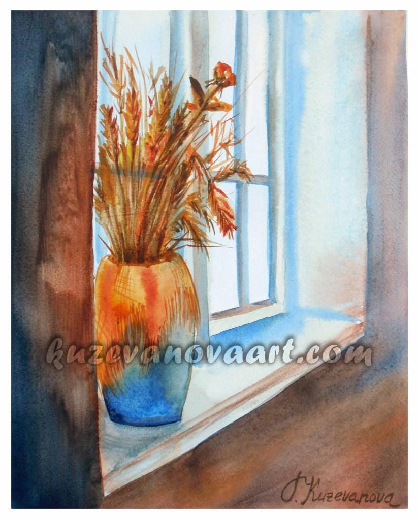 Window in summer