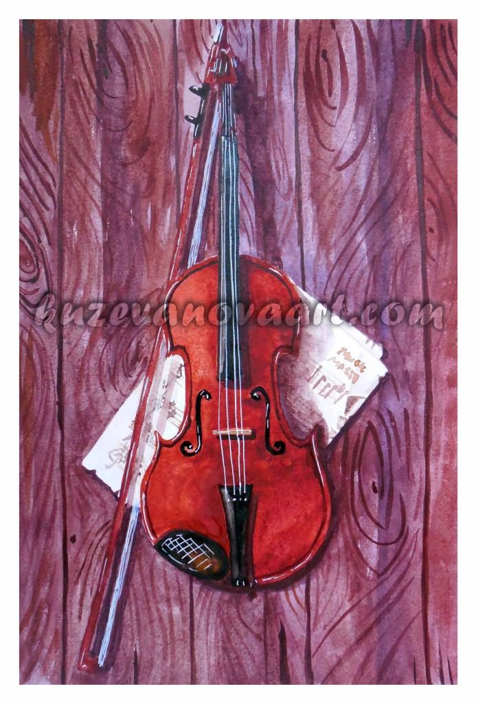 Violin of Sherlock