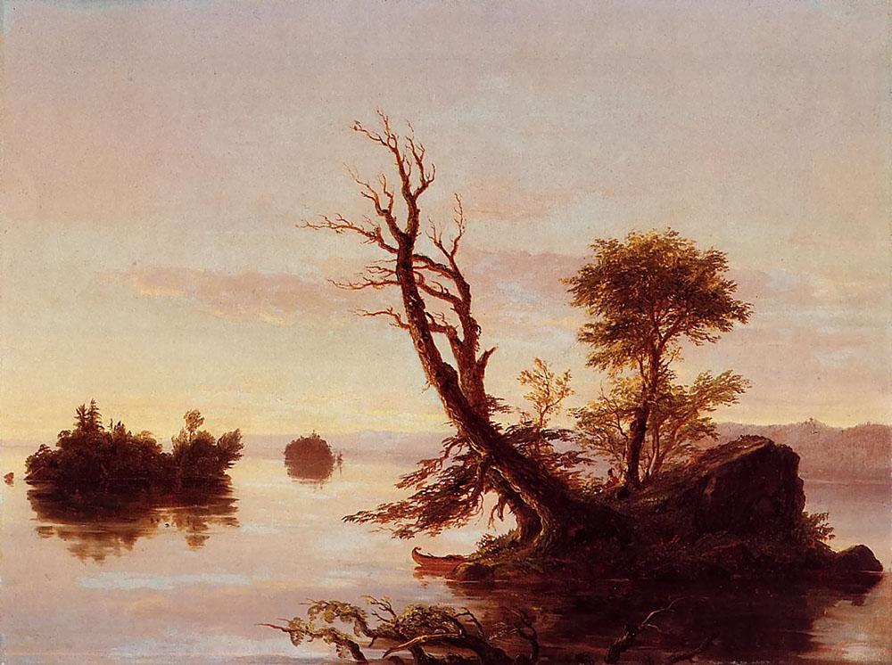 Томас Коул. Американское озеро.